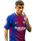 Coutinho FIFA 18 Team of the Week Gold