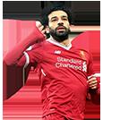 Salah FIFA 18 Team of the Week Gold