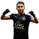 Mahrez FIFA 18 Team of the Week Gold