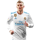 Kroos FIFA 18 Team of the Week Gold