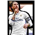Sergio Ramos FIFA 17 Team of the Week Gold