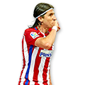 Filipe Luís FIFA 17 Team of the Week Gold