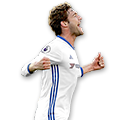 Marcos Alonso FIFA 17 Team of the Week Gold