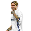 Sergio Ramos FIFA 17 Team of the Season Gold