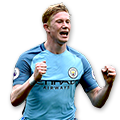 De Bruyne FIFA 17 Team of the Week Gold