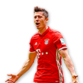 Lewandowski FIFA 17 Team of the Week Gold