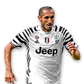 Chiellini FIFA 17 Team of the Week Gold