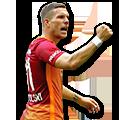 Podolski FIFA 17 Team of the Week Gold
