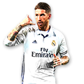 Sergio Ramos FIFA 17 Team of the Week Gold
