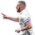 Benzema FIFA 17 Team of the Week Gold