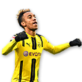 Aubameyang FIFA 17 Team of the Week Gold