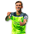 Coutinho FIFA 17 Team of the Week Gold