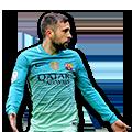 Jordi Alba FIFA 17 Team of the Week Gold