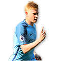 De Bruyne FIFA 16 Team of the Week Gold