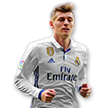 Kroos FIFA 17 Team of the Week Gold